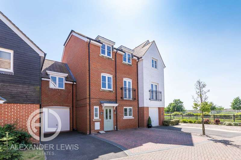 4 Bedrooms Terraced House for sale in Bluewater Quay, Bedford