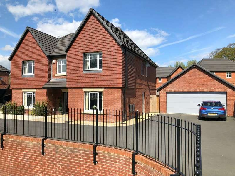 5 Bedrooms Detached House for sale in Chaworth Close, Alfreton