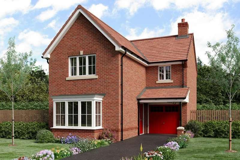 3 Bedrooms Detached House for sale in Hind Heath Road, Sandbach