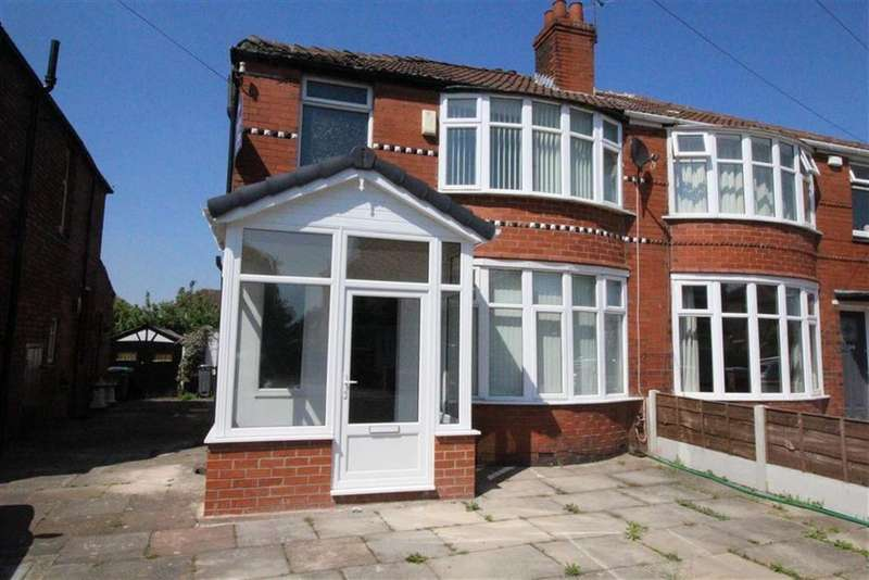 3 Bedrooms Semi Detached House for sale in Heathside Road, Withington, Manchester