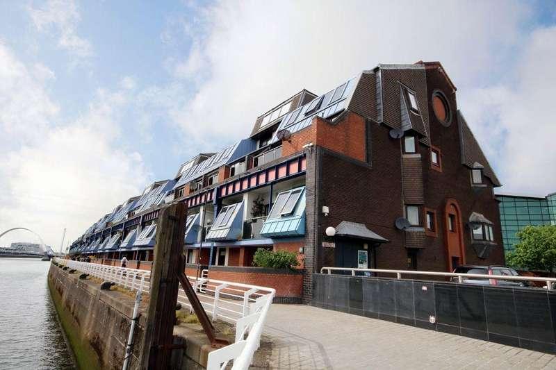 1 Bedroom Flat for sale in Flat 6, 71 Lancefield Quay, Finnieston, Glasgow, G3 8HA