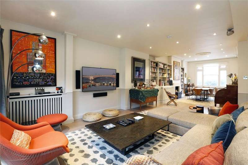 5 Bedrooms Semi Detached House for sale in Fulham Park Gardens, Fulham, London, SW6