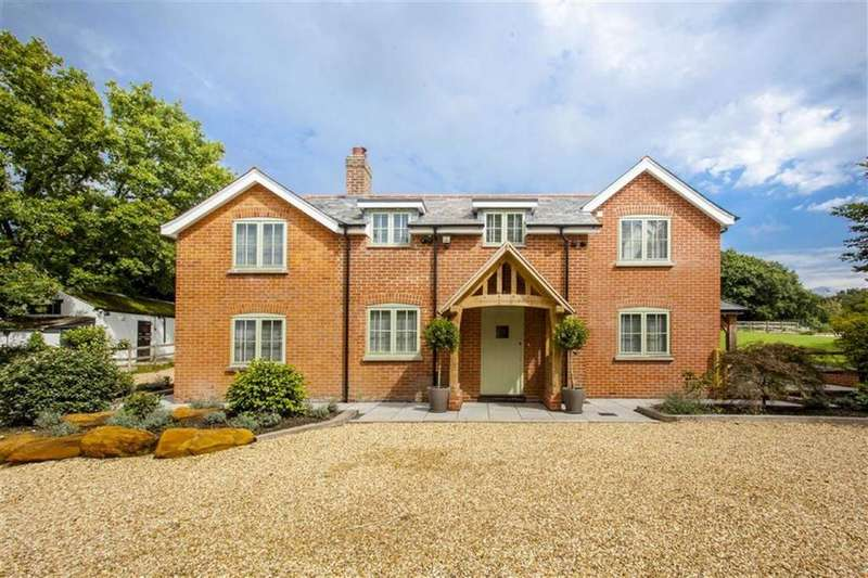 5 Bedrooms Detached House for sale in Rowe Hill, Wimborne, Dorset