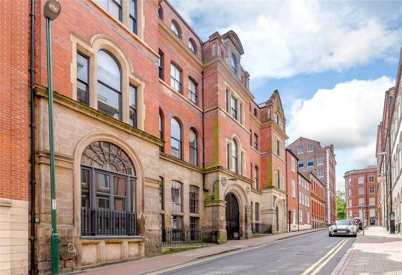 2 Bedrooms Penthouse Flat for sale in Stone Yard, 12 Plumptre Street, Nottingham, NG1