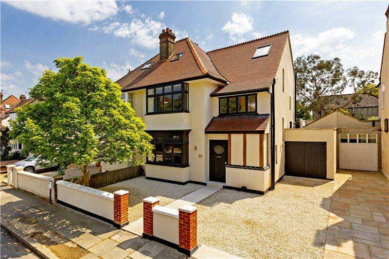4 Bedrooms House for sale in Suffolk Road, Barnes, London, SW13