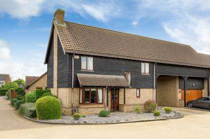 5 Bedrooms Link Detached House for sale in Keeley Farm Court, Wootton, Bedford, Bedfordshire