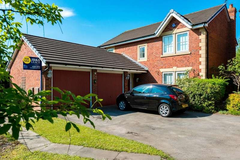 4 Bedrooms Detached House for sale in Orchid Way, New Bold, St. Helens