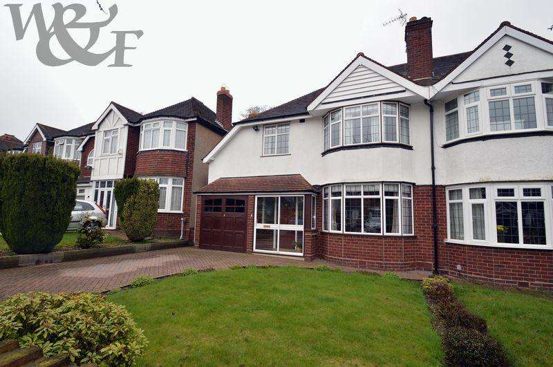 3 Bedrooms Semi Detached House for sale in Greenside Road, Erdington, Birmingham
