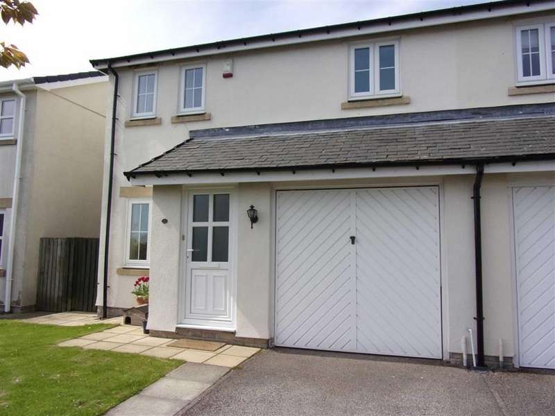 3 Bedrooms Semi Detached House for sale in Hunters Close, Consett, County Durham