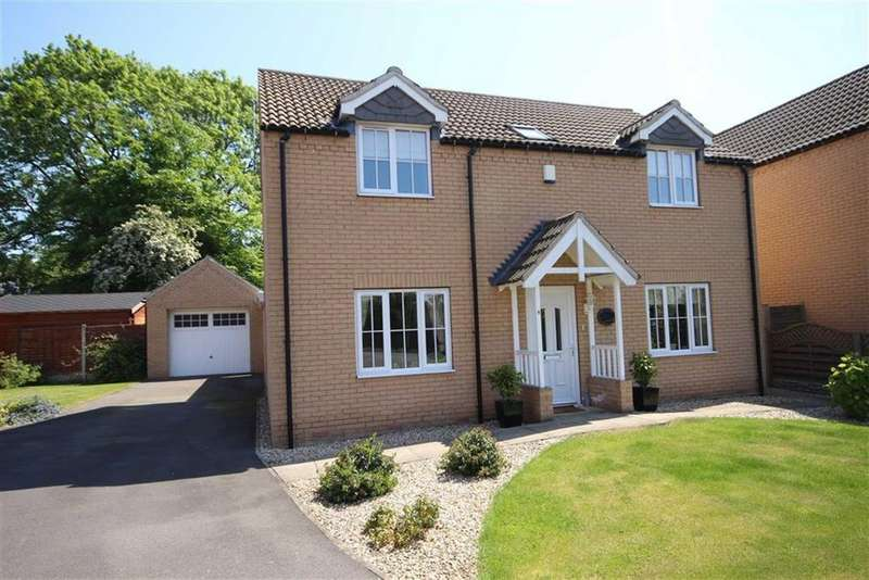4 Bedrooms Detached House for sale in Millstone Way, Waddingham, Gainsborough, Lincolnshire