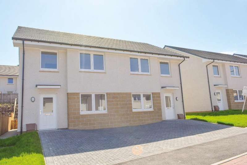 4 Bedrooms Semi Detached House for sale in 5 Dunmoss View, Coalsnaughton, Stirling, FK13 6BF