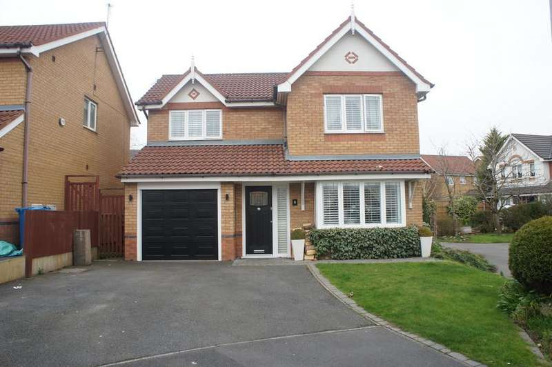 4 Bedrooms Detached House for sale in Shelley Court, Kirkby