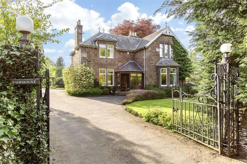 5 Bedrooms Detached House for sale in Fairmount, Western Road, Auchterarder, PH3