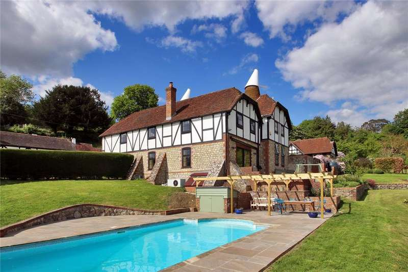 5 Bedrooms Detached House for sale in Wierton Hill, Boughton Monchelsea, Maidstone, Kent, ME17