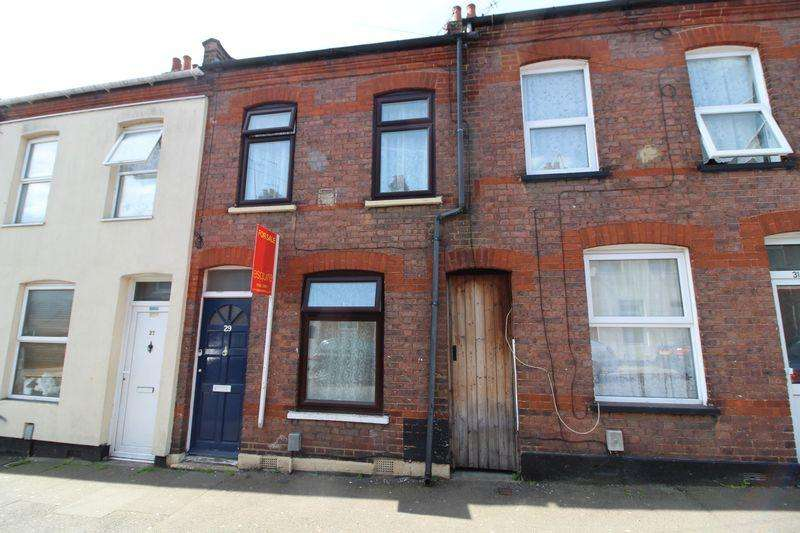 2 Bedrooms Terraced House for sale in Two bedroom PLUS LOFT ROOM on Hampton Road, Luton