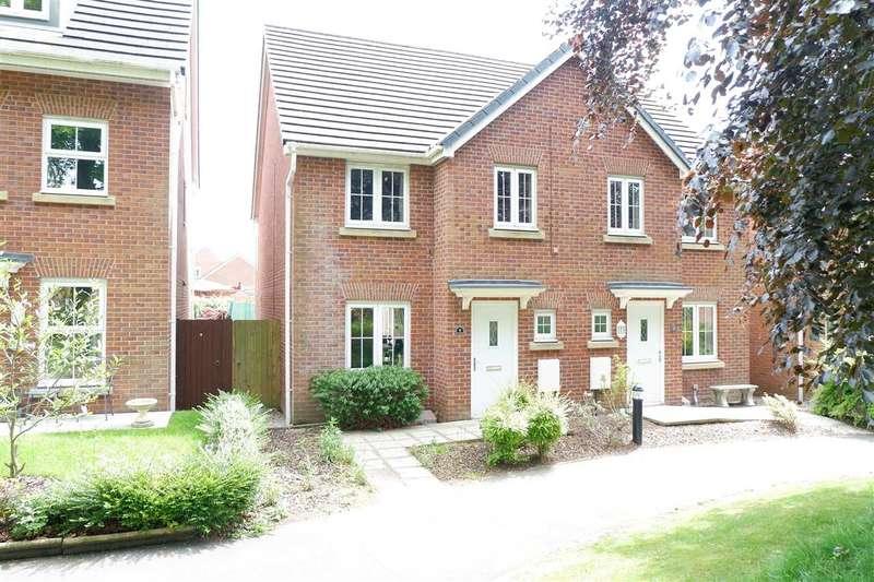 4 Bedrooms Semi Detached House for sale in Saunton Walk, Buckshaw Village, Chorley