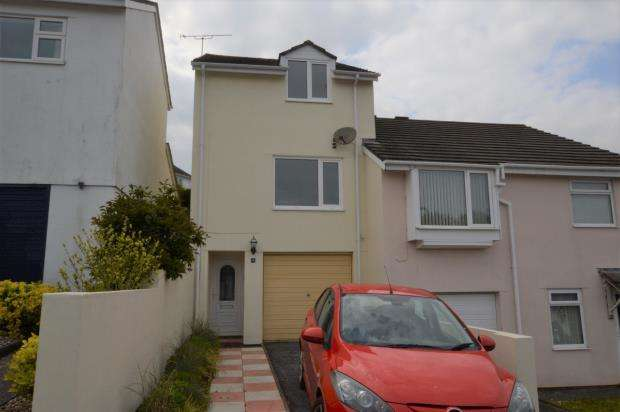 2 Bedrooms Semi Detached House for sale in Bench Tor Close, Shiphay, Torquay, Devon