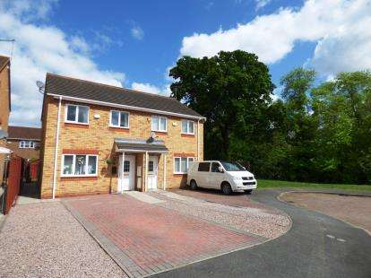 3 Bedrooms Semi Detached House for sale in Lyvelly Gardens, Parnwell, Peterborough, Cambridgeshire