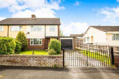 3 Bedrooms Semi Detached House for sale in Hillside Crescent, Mold, Flintshire, Clwyd, CH7