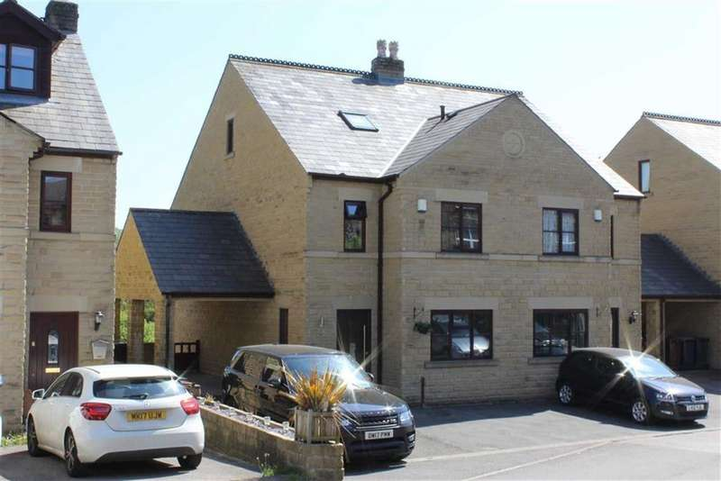 4 Bedrooms Semi Detached House for sale in Old Smithy Road, New Mills, High Peak, Derbyshire