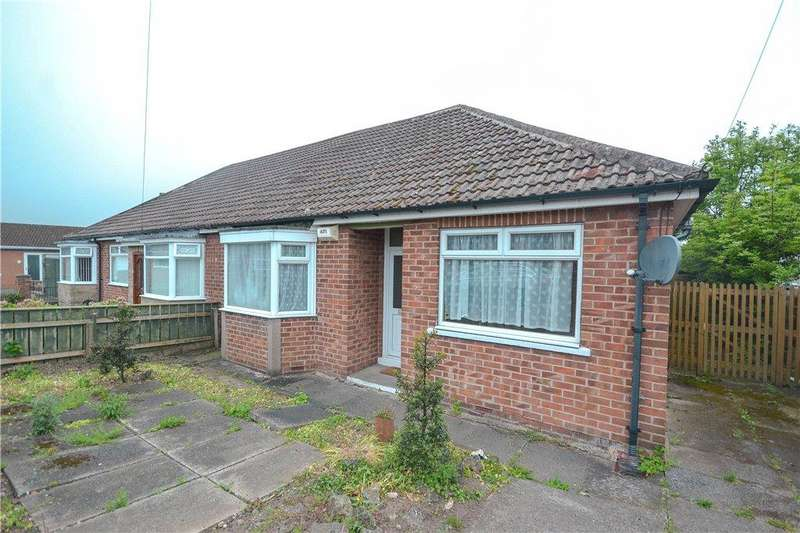 2 Bedrooms Semi Detached Bungalow for sale in Linden Crescent, Great Ayton, Middlesbrough