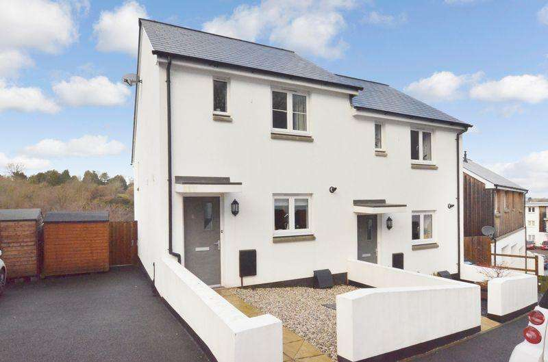 2 Bedrooms Semi Detached House for rent in Saddleback Close, Ogwell