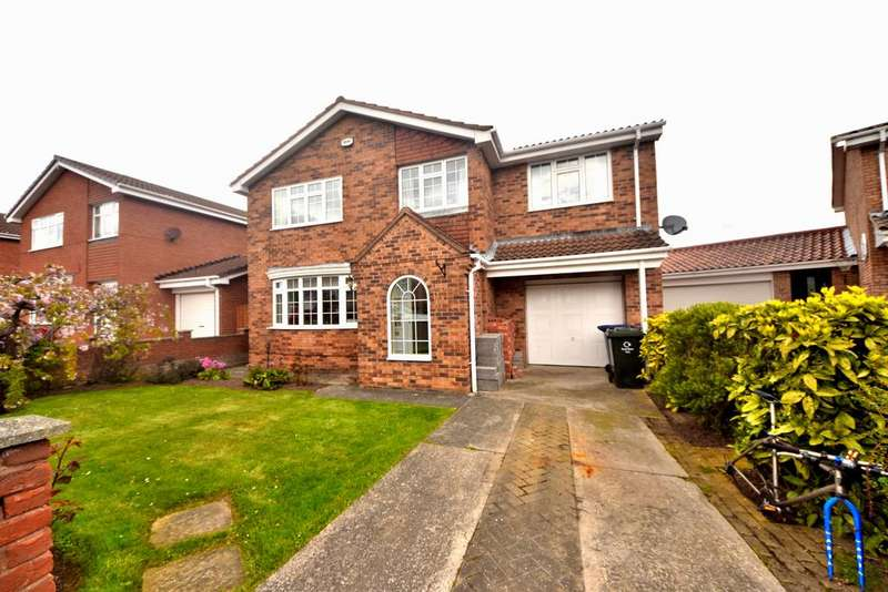 4 Bedrooms Detached House for sale in Allendale Tee, New Marske TS11