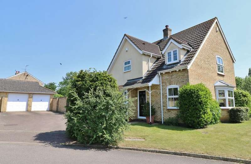 4 Bedrooms Detached House for sale in Brewers Close, Longstanton
