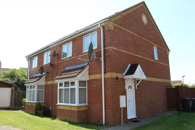 3 Bedrooms Semi Detached House for sale in Heron Park, Peterborough