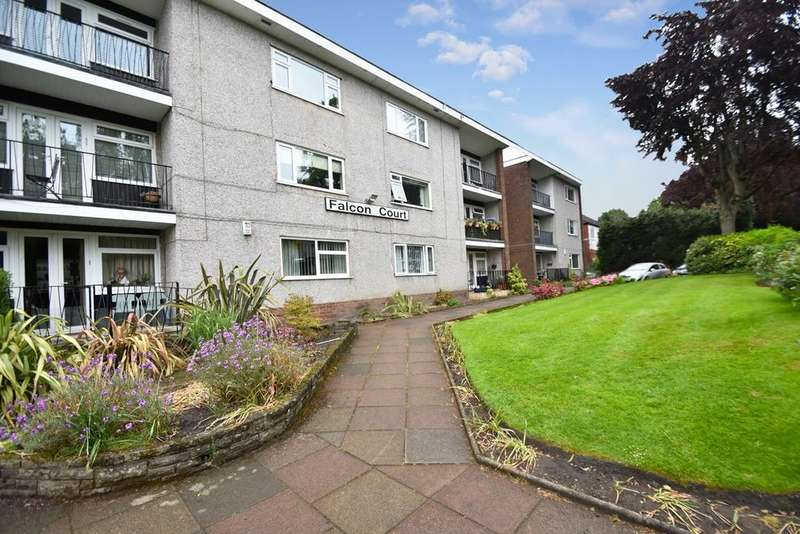 2 Bedrooms Flat for sale in Falcon Court, Park Street, Salford, M7