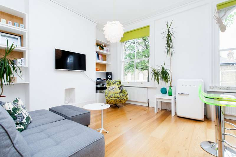 1 Bedroom Flat for sale in Campbell Road, Bow, E3