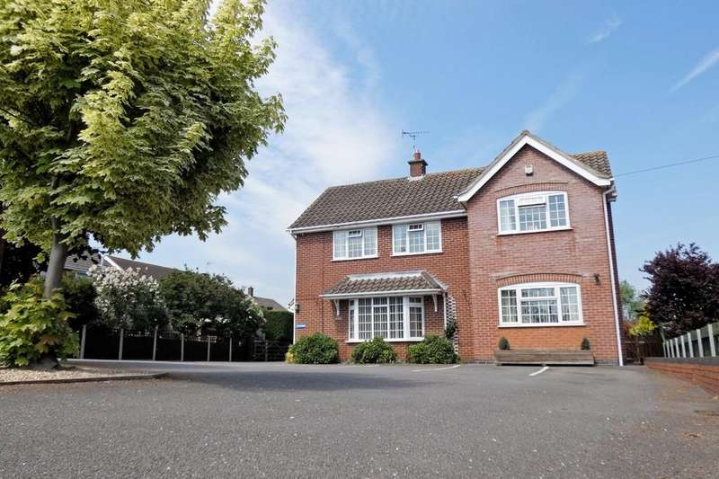 4 Bedrooms Detached House for sale in The Green, Diseworth
