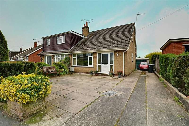 2 Bedrooms Semi Detached Bungalow for sale in Cromwell Drive, Shavington, Crewe