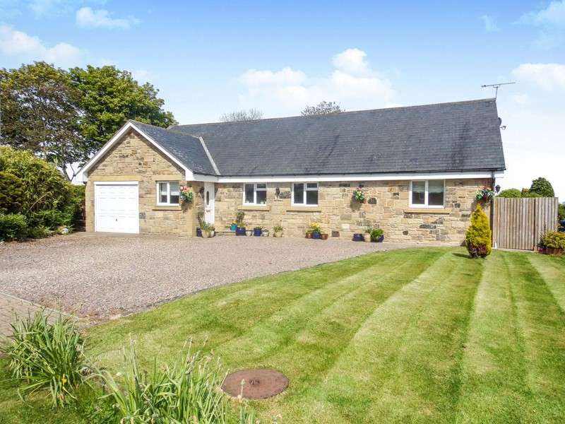 6 Bedrooms Bungalow for sale in The Croft, Longhoughton, Alnwick, Northumberland, NE66 3DD