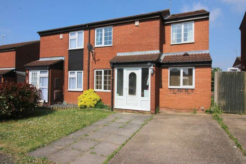 4 Bedrooms Semi Detached House for sale in Swallow Close, Luton, Bedfordshire, LU4 0XS