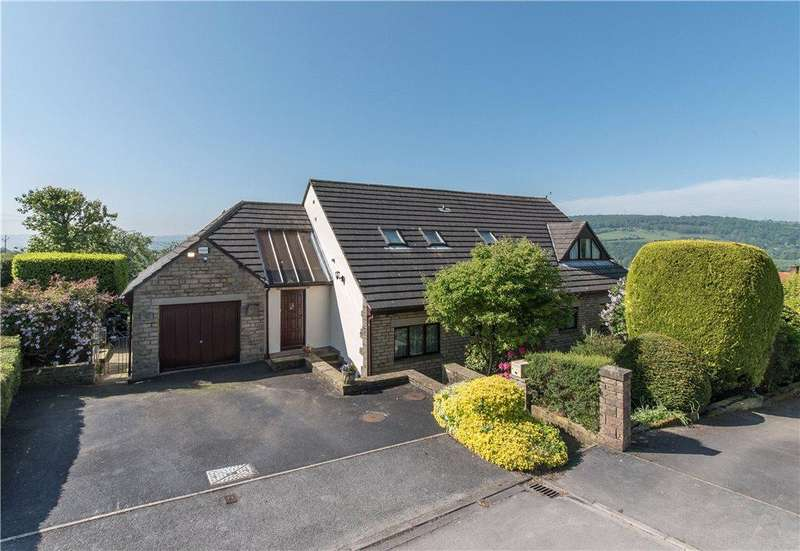 5 Bedrooms Detached House for sale in Greenhill Drive, Micklethwaite, Bingley, West Yorkshire