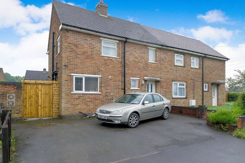 2 Bedrooms Semi Detached House for sale in Garendon Road, Coalville, LE67