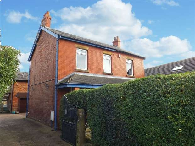 4 Bedrooms Detached House for sale in Cherry Tree Road, Blackpool, Lancashire