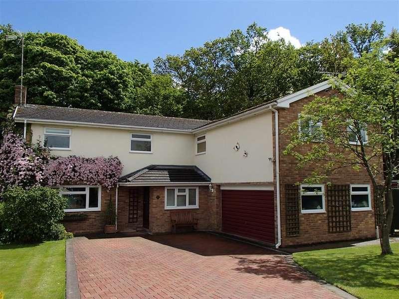 6 Bedrooms Detached House for sale in Ffordd Cwm, Coed Y Glyn, Wrexham