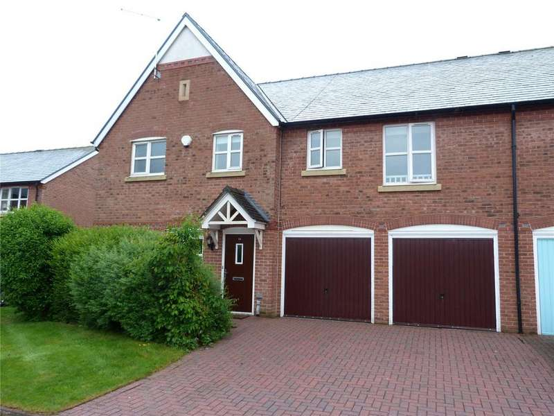 4 Bedrooms Semi Detached House for sale in St Clements Court, Chorlton, Crewe, Cheshire, CW2