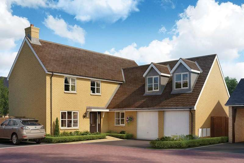 5 Bedrooms Detached House for sale in Tall Trees, Biggleswade Road, Potton, SG19