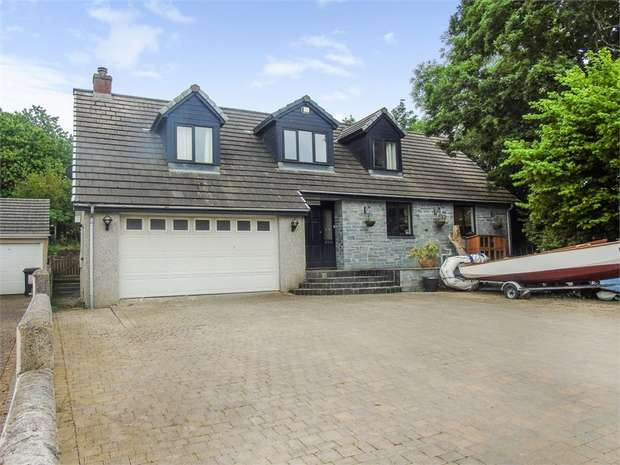 4 Bedrooms Detached House for sale in The Mount, Par, Cornwall