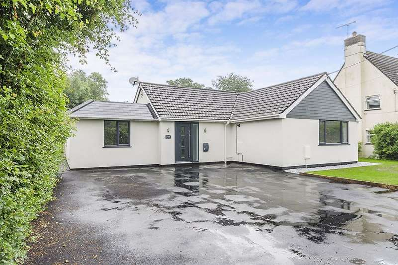 4 Bedrooms Detached Bungalow for sale in Station Road, Alderholt, Fordingbridge, SP6