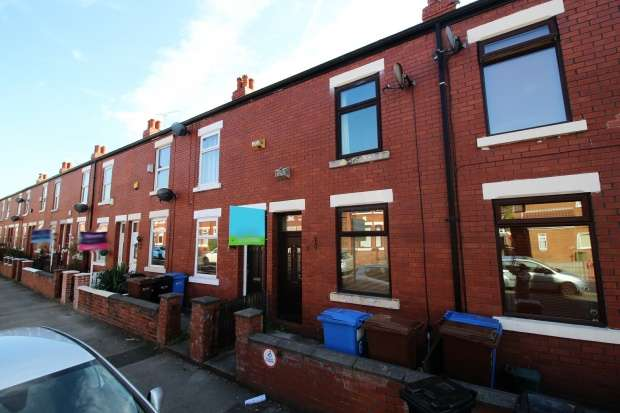 2 Bedrooms Terraced House for sale in Thornley Lane North, Stockport, Cheshire, SK5 6RB