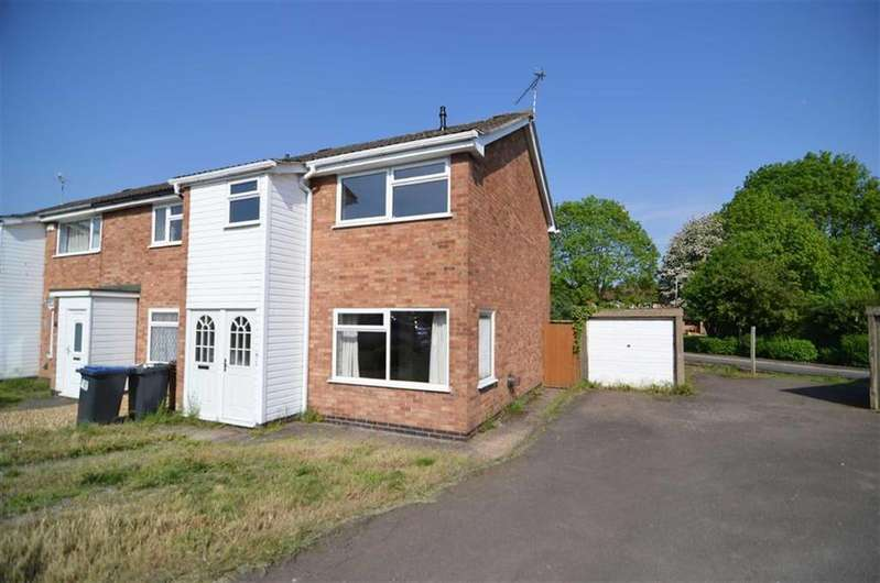 3 Bedrooms Town House for sale in Cufflin Close, Ratby