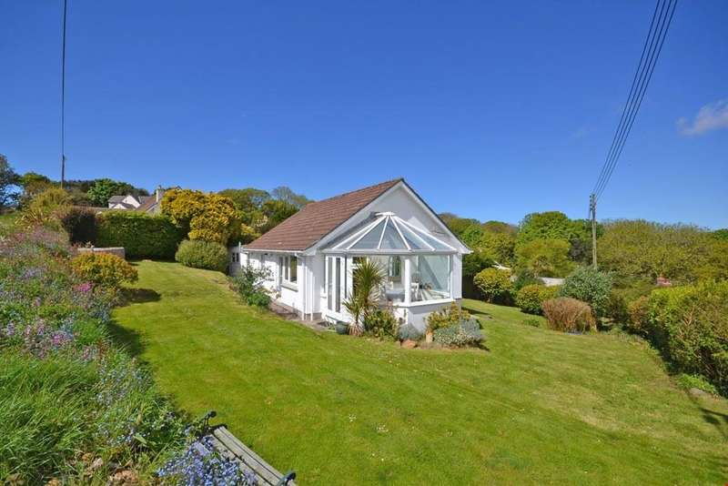2 Bedrooms Bungalow for sale in Whitecross,between St Ives and Penzance, Cornwall, TR20