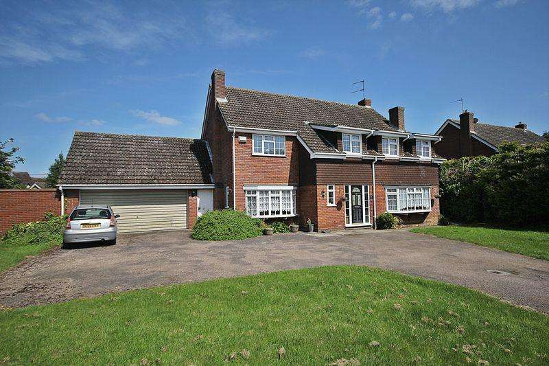 5 Bedrooms Detached House for sale in Oak Close, Westoning