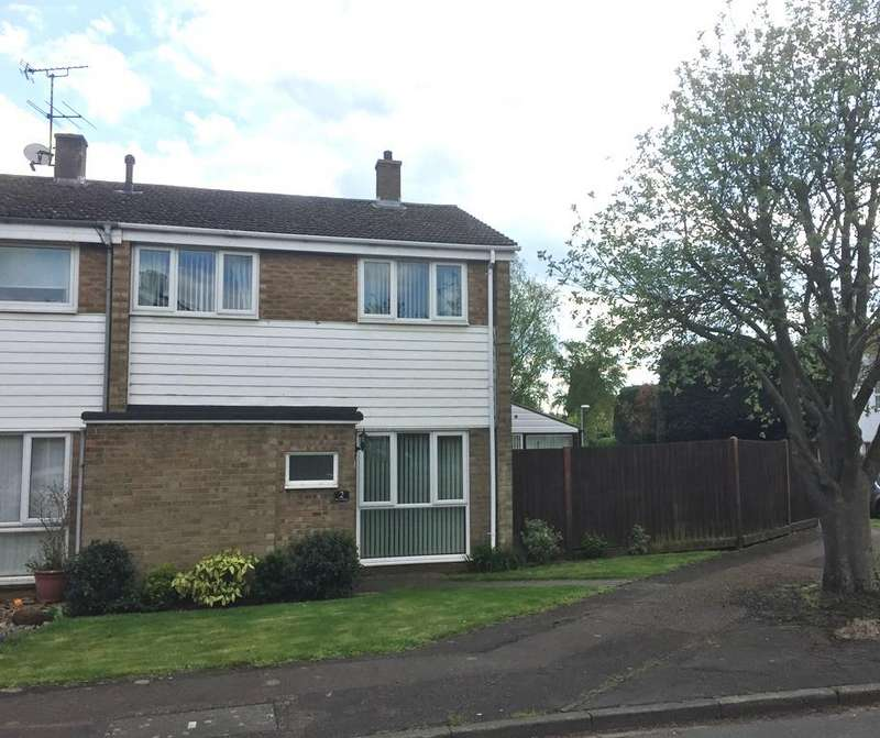 3 Bedrooms End Of Terrace House for sale in The Paddocks, Potton, Bedfordshire SG19