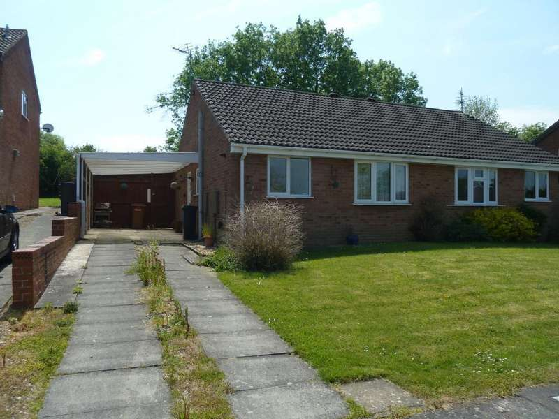 2 Bedrooms Semi Detached Bungalow for sale in Kestrel Road, Melton Mowbray