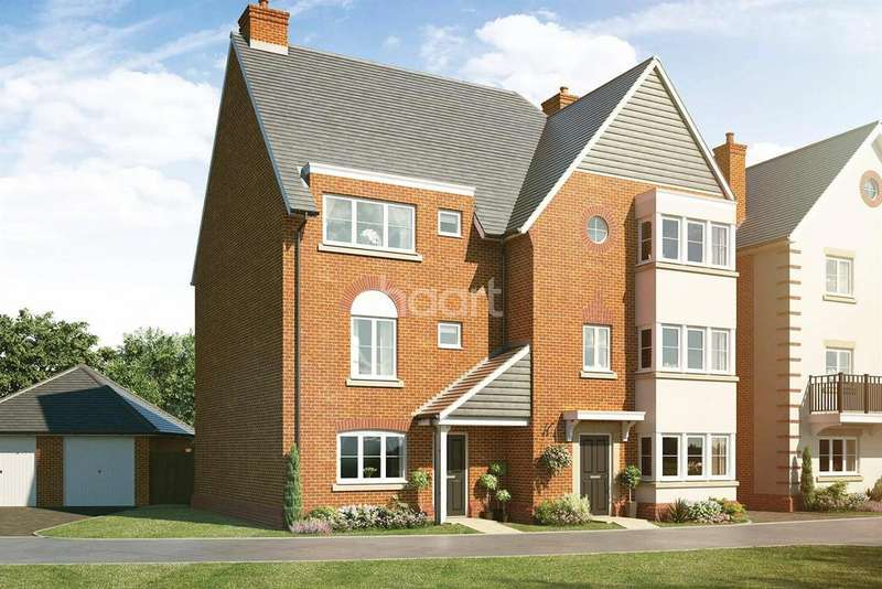 4 Bedrooms Semi Detached House for sale in Montgomery Gardens, Aldershot